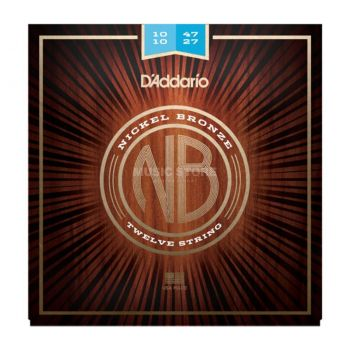 D´addario NB1047-12 Juego de cuerdas para guitarra acústica