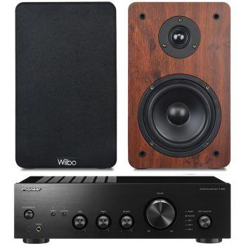 Pioneer A-10AEK + Wiibo Karino 200 Conjunto Audio