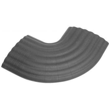 Defender OFFICE C GREY Curva de 90° gris para Pasacables 85160 de 4 Canales