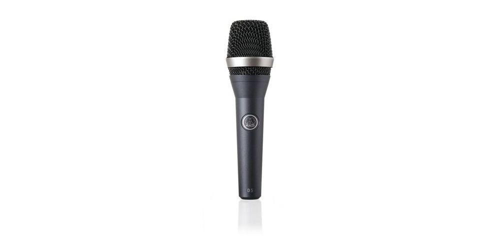 AKG D-5 S Microfono D5 S Directo ,con pinza SA45. AKG con interruptor