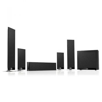 KEF T205 SET Negro Sistema acustico home cinema T-205 SET