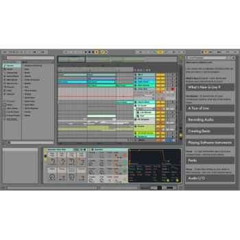 ABLETON LIVE 9 Standard Edition Desde Live Lite 85716