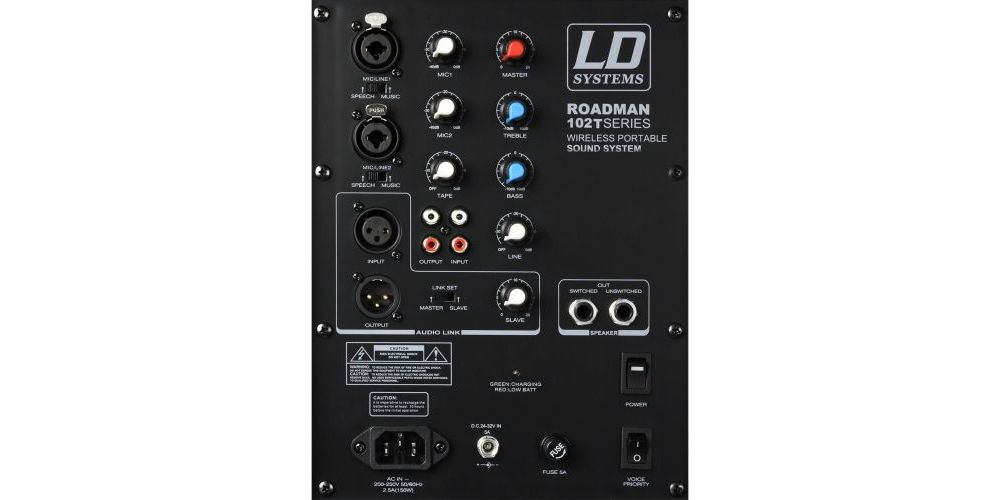 LDSYSTEMS ROADMAN102HS BACK