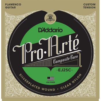 D Addario EJ-25 C Flamenco Cuerdas Guitarra Clásica