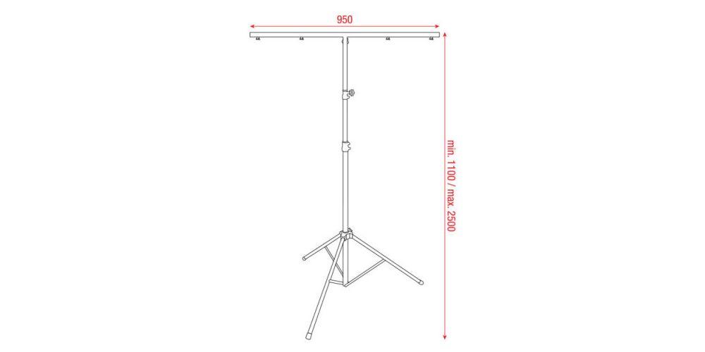 showtec light stand eco 70102 2