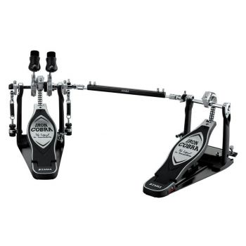 Tama HP900PWLN Pedal Doble Zurdos Iron Cobra
