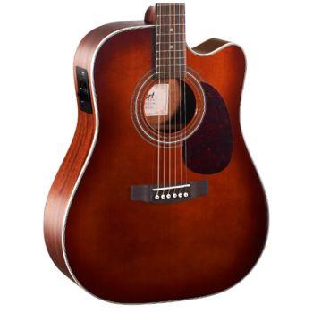 Cort MR500E-BR Guitarra Acústica Brown Burst