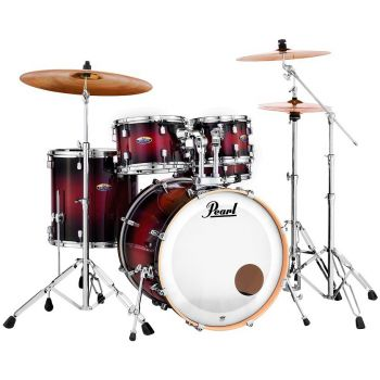 Pearl Decade Maple DMP925/F Gloss Deep Red, Set Bateria