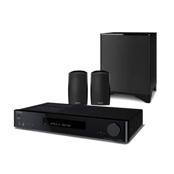 ONKYO LS-5200 Black Sistema Home Cinema 2.1 con Altavoces, Negro