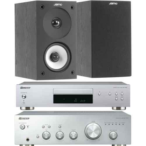pioneer a10 silver amplificador pd10ae jamo s622bk