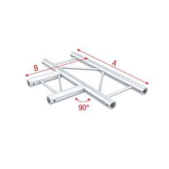 Showtec Cross horizontal Cruceta en T Horizontal para Truss FS30017H
