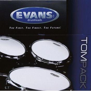 Evans Pack G1 Clear Rock 10, 12 y 16 ETPG1CLRR