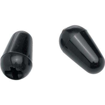 Fender Stratocaster puntas de interruptor de pastilla negras