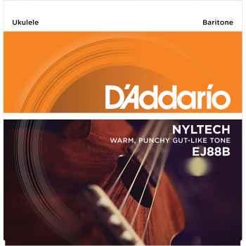 D´addario EJ88B Nyltech Baritone para ukeleles