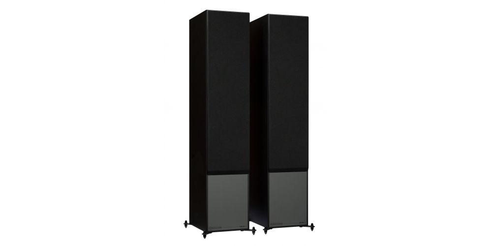 monitor audio monitor300 blk altavoces pie. conexiones bass reflex altavoz pie