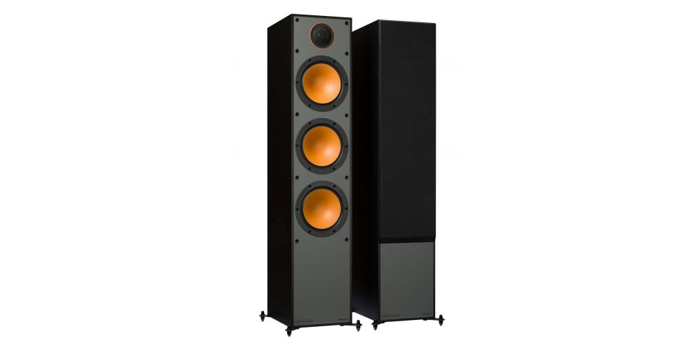 monitor audio monitor300 blk pareja altavoz pie