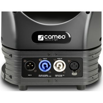CAMEO MOVO BEAM Z 100 Cabeza móvil con anillo LED, giro continuo y zoom