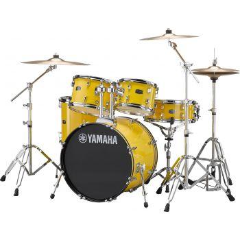 Yamaha RDP0F5 CP SET Rydeen Mellow Yellow Con Platos Paiste
