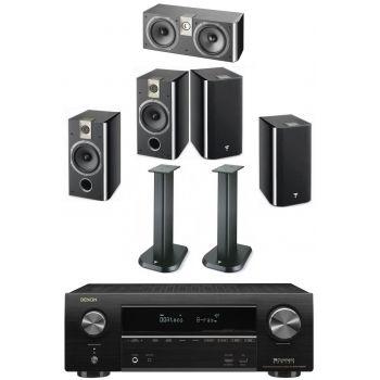 Denon AVRX1600+Focal Chorus 706 Bk+Chorus 706+Chorus CC700+Soportes Regalo