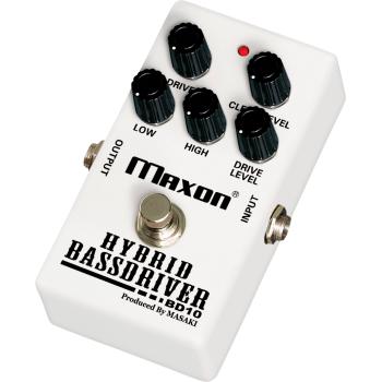 Maxon BD-10 Hybrid Bass Driver Pedal Efectos Bajo