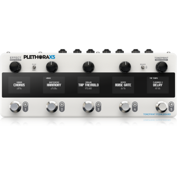 Tc electronic Plethora X5 Pedal Multiefectos