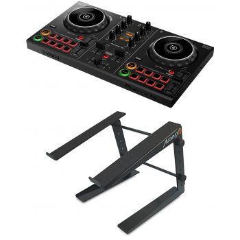 Pioneer Dj DDJ-200 Controlador Dj + Soporte Laptop Stand DJ TOP 5