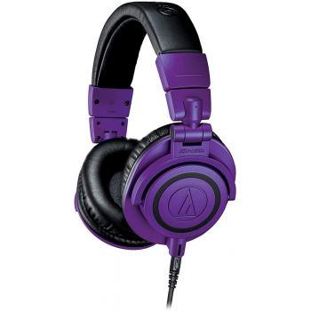 Audio Technica ATH-M50xPB Auriculares Profesionales Violeta Edición Limitada