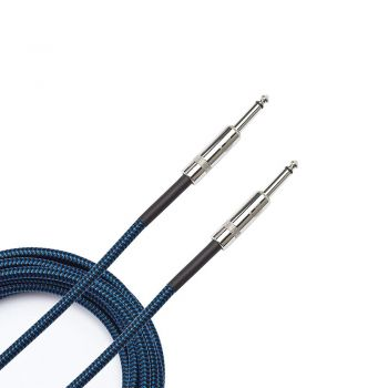 Planet Waves PW-BG-10BU Cable de Guitarra Braided Blue 3 Metros