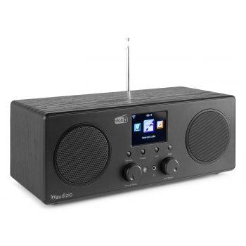 Audizio Bari Radio Wifi Estéreo Negro
