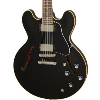 Gibson ES-335 Dot Vintage Ebony Guitarra Eléctrica