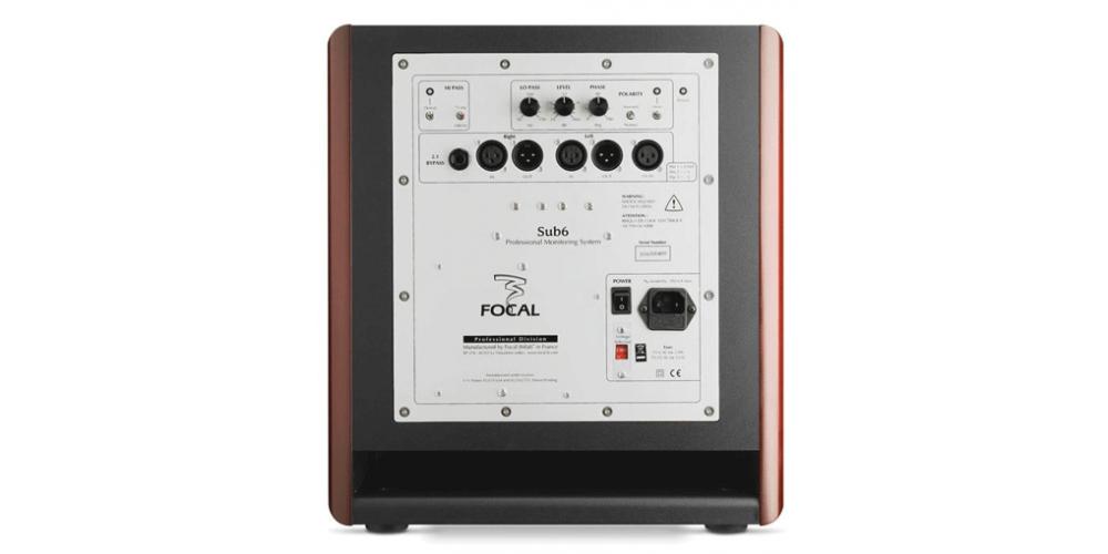 pro audio sm6 caissons de graves sub6 2