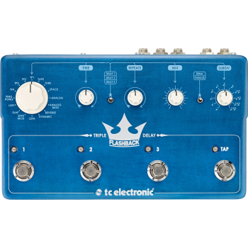 TC Electronic Flashback Triple Delay Pedal -