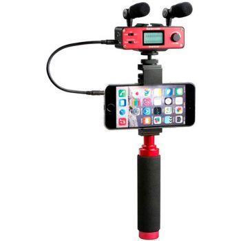 Saramonic SmartMixer Adaptador de Audio para iOS y Android