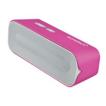 SUNSTECH SPUBT770 Rosa Altavoz Inalambrico Bluetooth