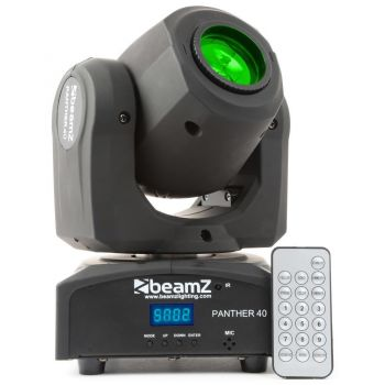 Beamz Panther 40 Cabeza Movil Led 150461