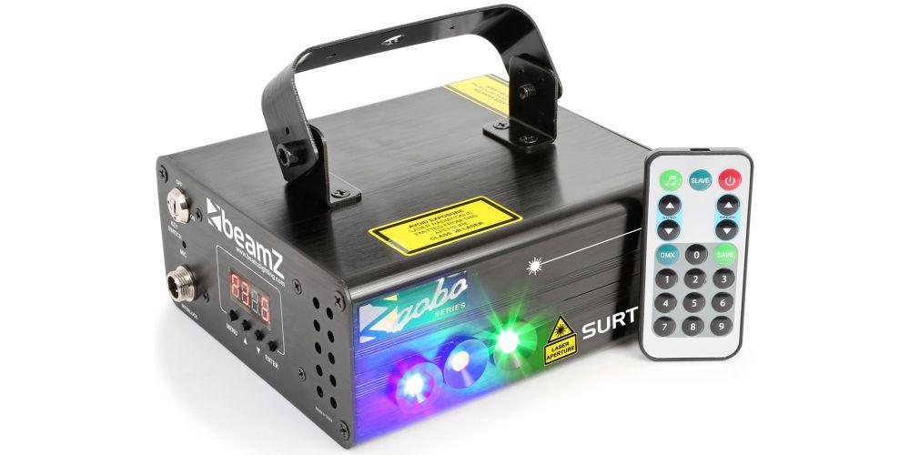 Beamz Surtur II Doble Laser RG Gobo