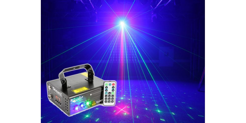 oferta Beamz Surtur II Doble Laser RG Gobo