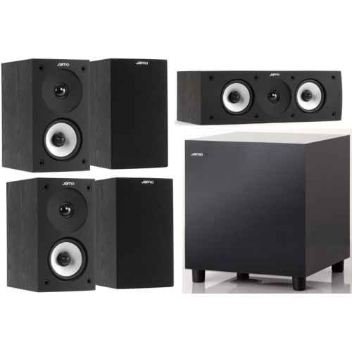 jamo s622 hcs black set sub 210 bk