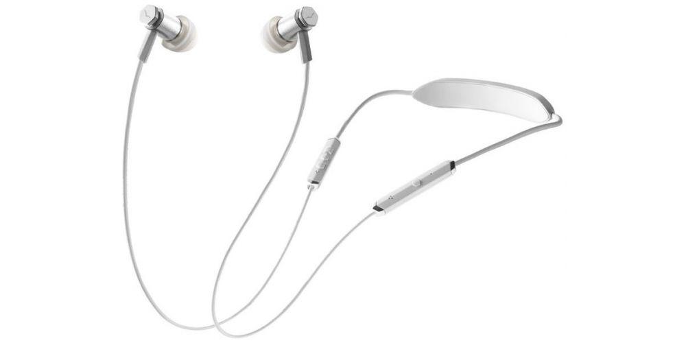 v moda forza metallo wireless in ear white silver