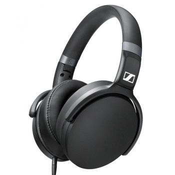 Sennheiser HD 4.30i Auricular HiFi On Ear Compatible iPhone con Entrada Jack. Negro