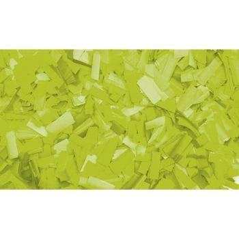 Showtec Slowfall confetti 55 x 17mm Green Fluo 1Kg Verde Flúo 60910FG