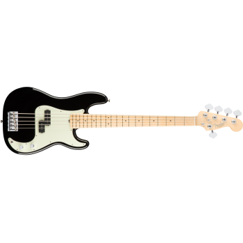 Fender American Pro Precision Bass V Black