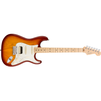 Fender American Pro Stratocaster HSS Maple Fingerboard Sienna