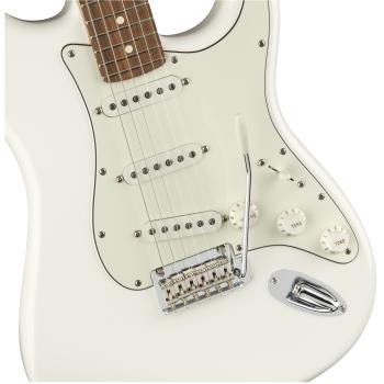 Fender Guitarra Eléctrica Player Stratocaster PF Polar White