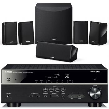 Yamaha YHT-4854, Receptor AV RXV-485 + Altavoces Home Cinema NS-P41