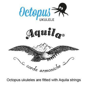 Octopus UK 200 RD Ukelele Soprano Rojo
