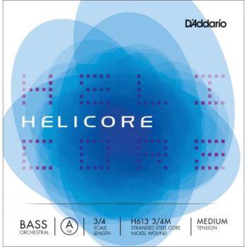 D´addario H613 Cuerda Suelta Contrabajo Helicore Orquestral La (A) 3/4 Tensión Media
