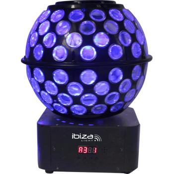 Ibiza Light STARBALL-GB Doble Efecto de Iluminación RGBW