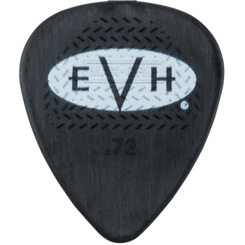EVH Púas Signature Black-White Pack 6 Unidades 0,73mm