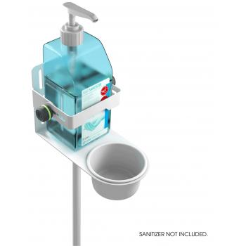 Gravity MA DIS 01 W Soporte universal de desinfectante blanco